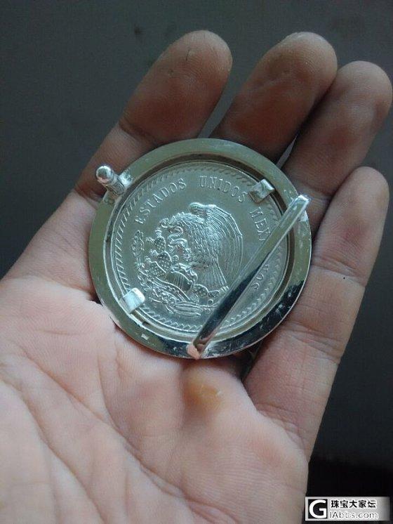 不走寻常路,佩戴个性物——手工自制925银玛雅酋长皮带扣_银