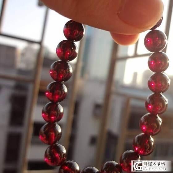 【银镯已灭草,不出啦关帖 谢谢厚爱哇】为了团购版的银镯出7.9mm玻璃体紫玫红石榴石_宝石
