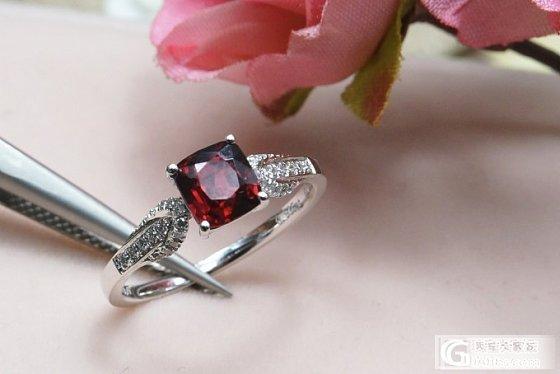 【山水彩宝】简单款尖晶石戒指_宝石