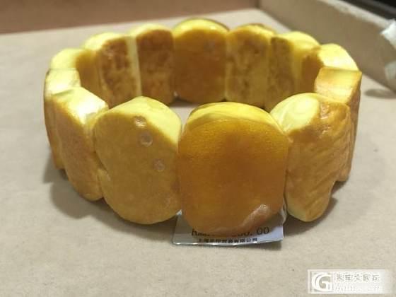 乐印出品的波兰白蜜原石手牌,直接产地进口,未经任何加工,不喜原汁原味的慎入_蜜蜡珠串
