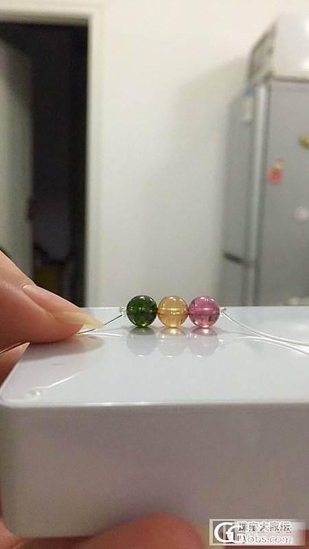 颜色超美~!碧玺单珠碧玺单珠~7~7.5mm哒都有~近玻璃体,糖果色,_宝石