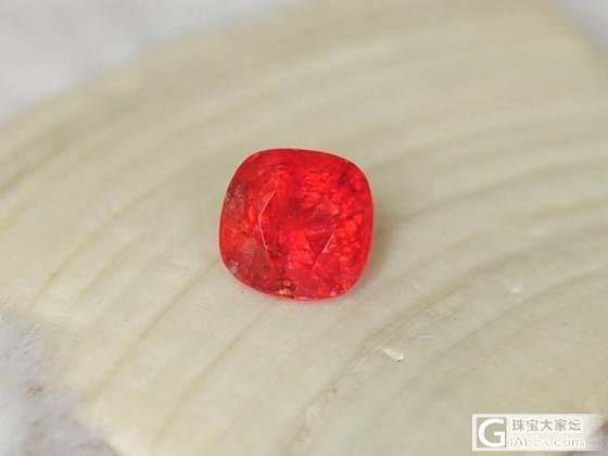 新人新帖,我的尖晶石,就是包体多,但喜欢它颜色_尖晶石
