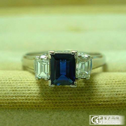 请大侠看看,哪颗蓝宝石漂亮啊_刻面宝石蓝宝石