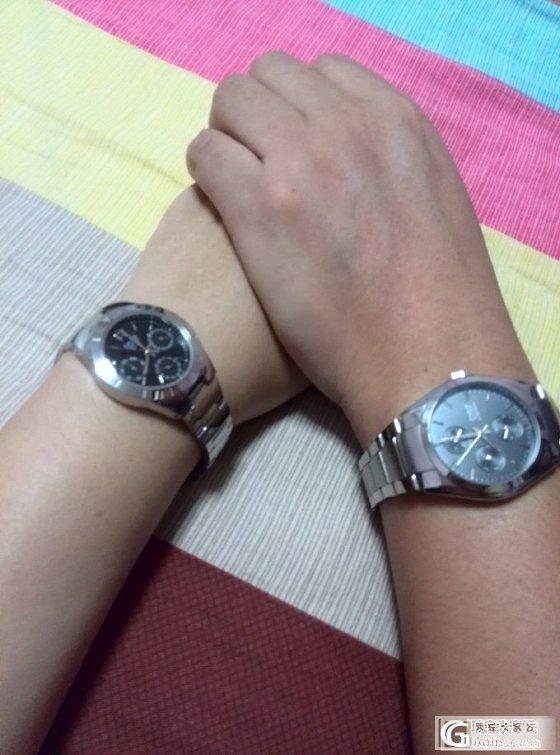 镯子都带不过来,老公送了个手表,纠结的我啊!!_卡西欧银
