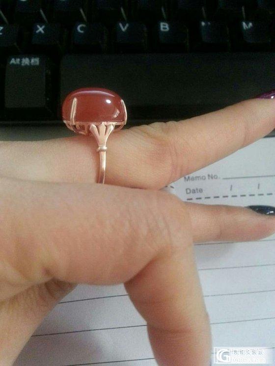 S925精镶嵌南红手链、戒指套装 也可单转(已出请删帖,急)_宝石