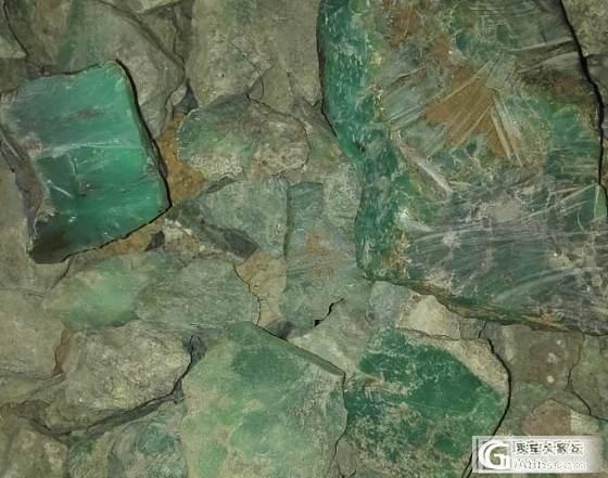 来一些奥州玉的成品和原料…大家熟悉一下_宝石