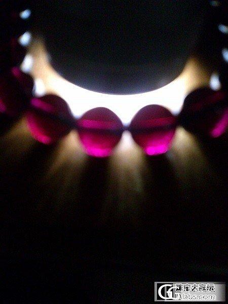 骗闪喽(会还哦,嘻嘻),嘚瑟一下新败的收藏级10.5mm紫牙手串_石榴石