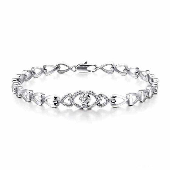 这款手链定制大概需要多少钱?有图,手围16.5_钻石