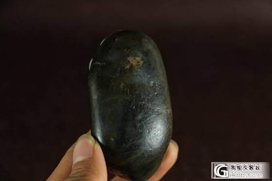 和田玉把件 保真 支持复检 黑白分明细腻一级白青花籽料连年有余_传统玉石