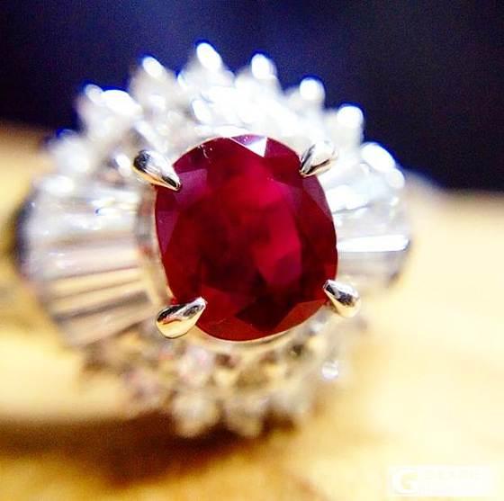 红宝石成品戒指_宝石