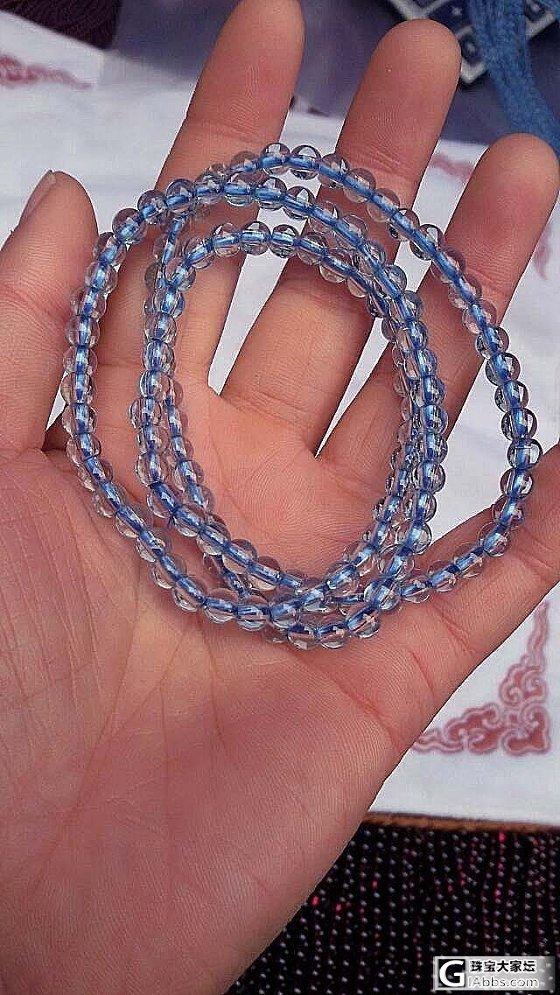 用戒面料做的海蓝宝,全镜的,颜色好,大家来投砖呀_珠宝