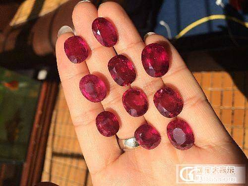 新到货 5-8克拉 红宝碧玺 美艳艳  价格也是超级美丽_宝石