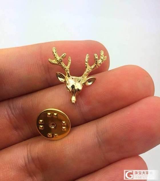 (欣赏)圣诞节要来了,小鹿链子好精致_项链金