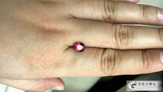 割肉转让-大红尖晶白金戒指、紫锂辉石、沙弗莱、无烧坦桑、蛋面舒俱来_珠宝