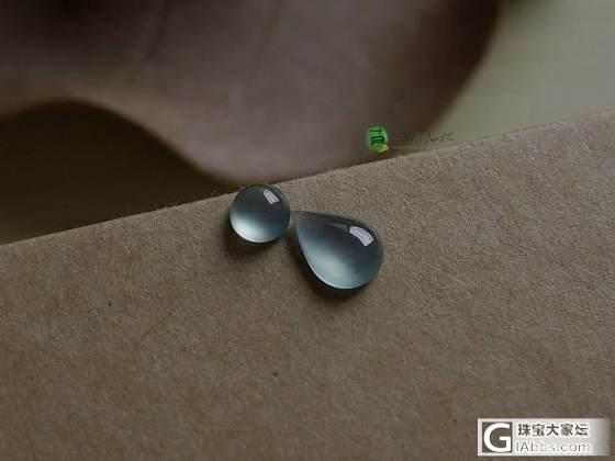 【十月】7.3-蓝水水滴蛋面组合,售价:480(微信号:xy13580172566)_十月花嫁翡翠