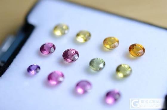 色彩斑斓的夏天要来啦_蓝宝石刻面宝石
