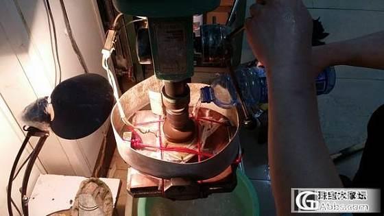 一只订制一级白玉籽料 手镯的制作全过程_手镯和田玉