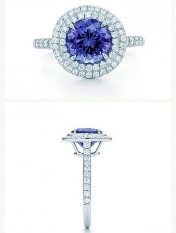 【7.3日2.2ct圆形斯里兰卡无烧蓝宝石】_泰勒珠宝