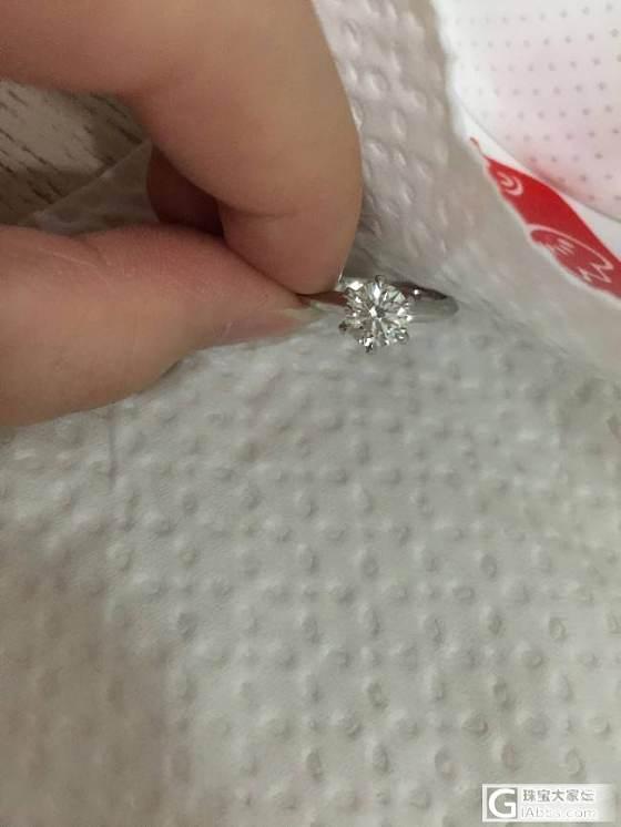 麻烦请大家看下是不是奶钻。_钻石