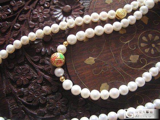 3D烤漆珠和珍珠是绝配_珍珠金搭配
