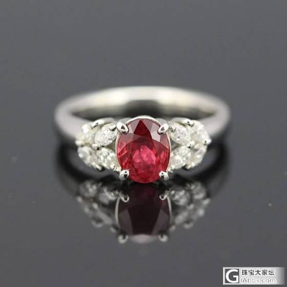 1.26缅甸红宝石戒指。_悠然亭珠宝