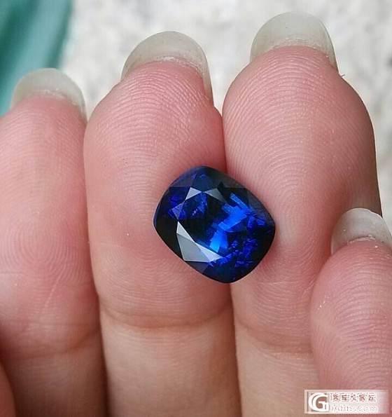 做了个证书给的皇家蓝_蓝宝石
