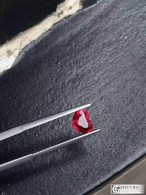 莫桑比克 无烧 红宝 高性价比 GRS认证_红宝石刻面宝石