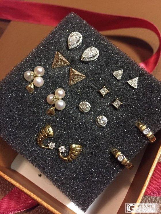 钻石耳钉_钻石