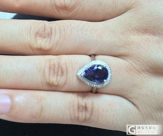 新做的一枚小戒指,好喜欢,大家一定猜不到这是啥哈哈_宝石刻面宝石