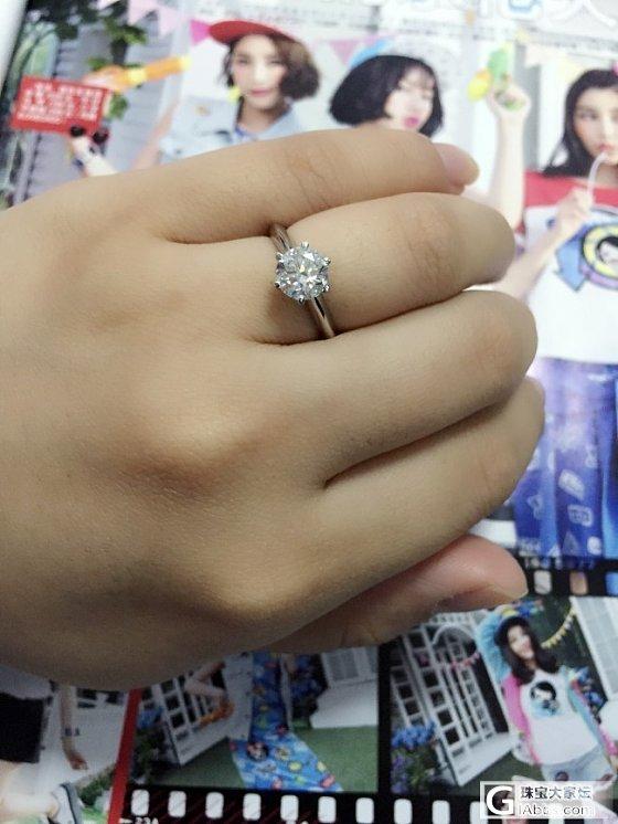 还图啦!终于到手!美美哒结婚!_钻石