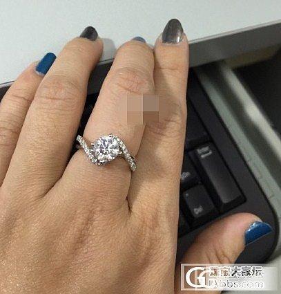 请大家帮忙看看,准备当订婚戒指的_钻石