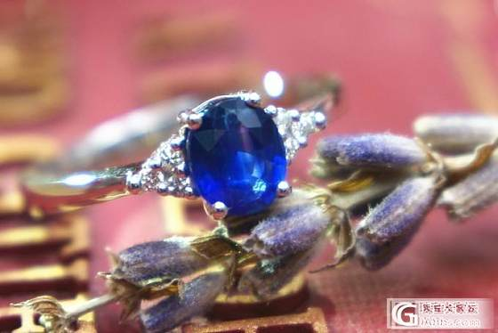 【山水彩宝】精美蓝宝石戒指_宝石