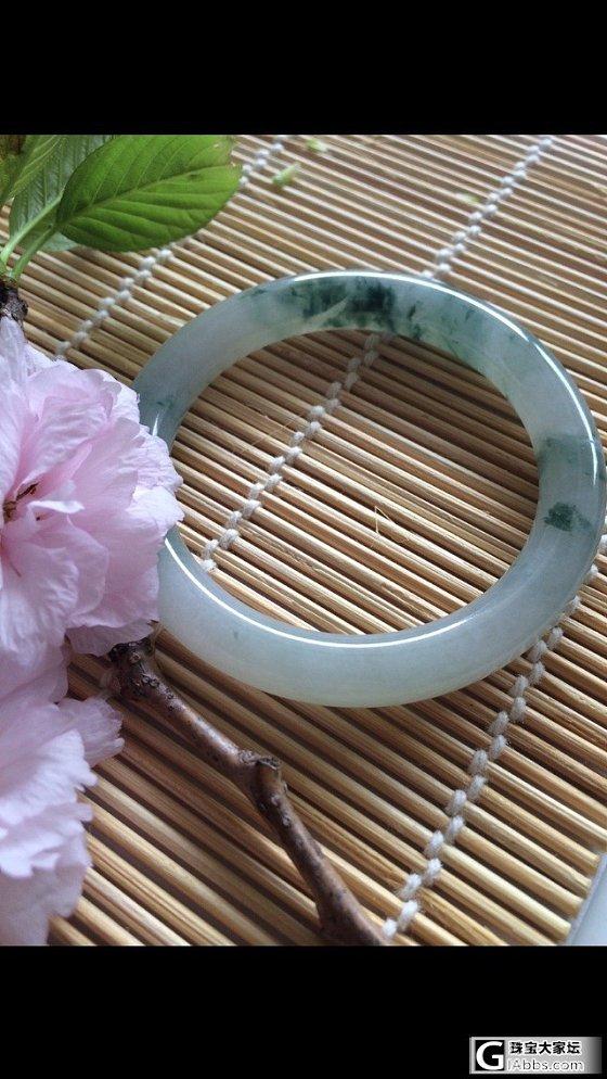 绿阴生昼静,孤花表春余 - 冰飘花小圆条还图_翡翠