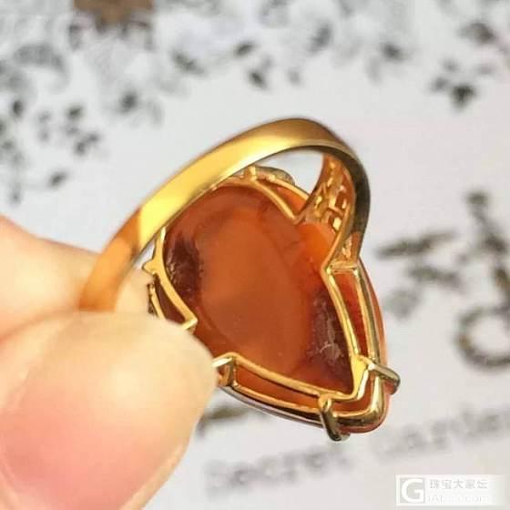 这个蜜蜡的戒指品质怎么样呢?新手想要拥有一个,不要太贵_戒指蜜蜡