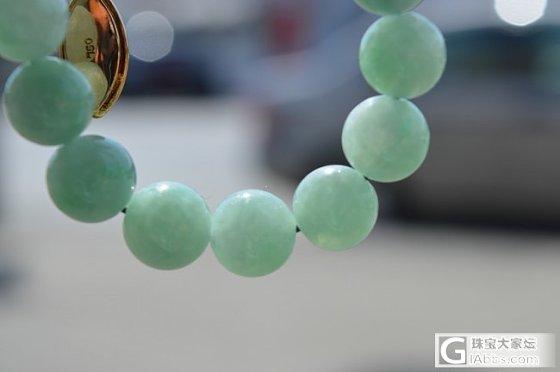 嫩绿糖豆10mm-12mm串串_珠串翡翠