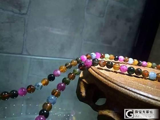 母亲节特惠,巴西老矿6mm碧玺,800一条,这品质超值_宝石