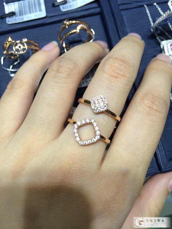福利来啦!帮各位坛友找的小清新戒指很坛友在问有没有这样款式今天终于找到啦_宝石