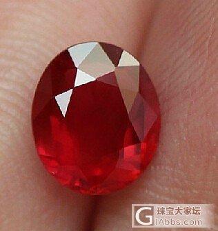 新手求教 哪颗红宝石可以入手?_刻面宝石红宝石