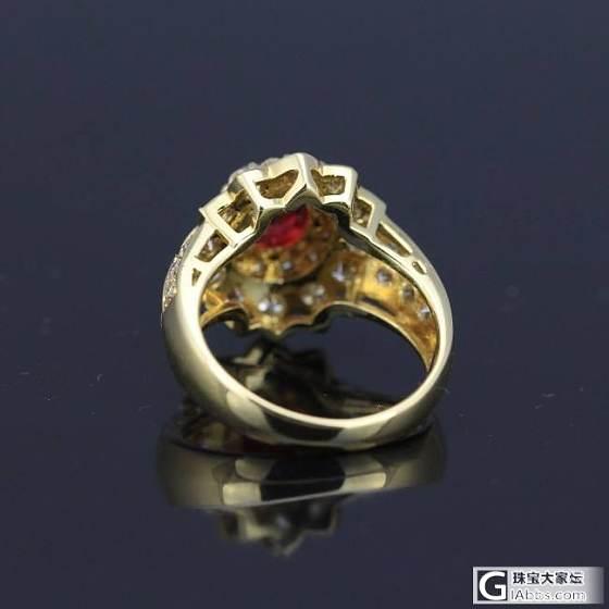 1.06ct无烧红宝石戒指。_悠然亭珠宝