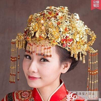 想婚礼打中式龙凤头饰,大家有熟悉的打金师傅能做吗?_金