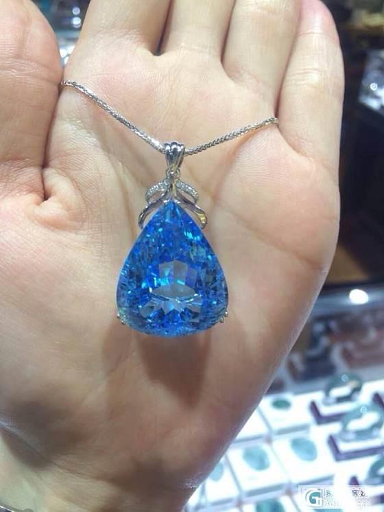 新买的水晶吊坠!大家看我买的值不_水晶