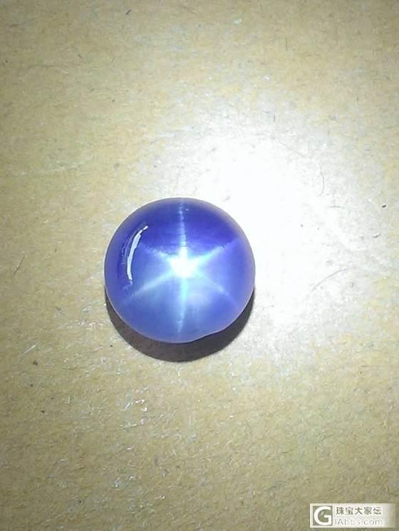 星光,星光_蛋面蓝宝石