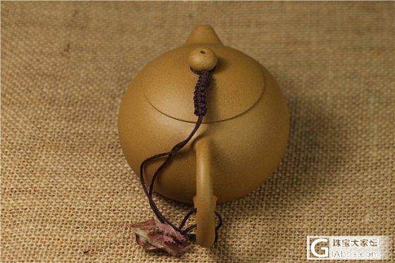 【稀饭香铺】宜兴紫砂壶 黄金段泥西施壶_文玩