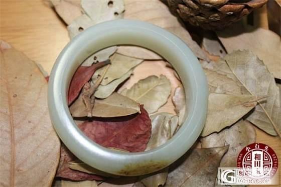 [May如玉]籽镯两姐妹——青霞84克、紫霞77克_和田的小石头