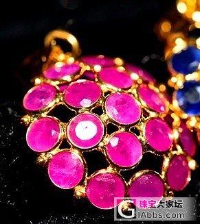 大家看看这几个红宝石吊坠如何_红宝石