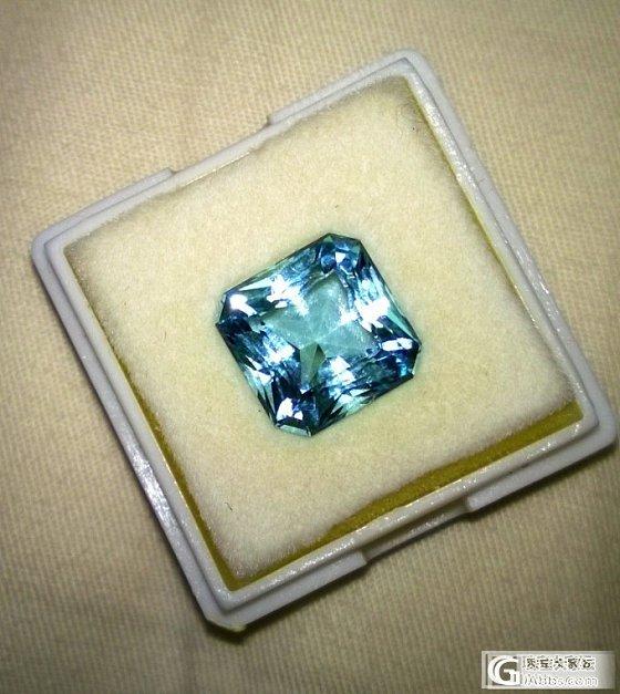 颜色还说得过去的海蓝宝_海蓝宝刻面宝石