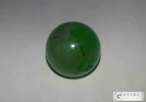 这个不知道是什么石头的珠子_翡翠