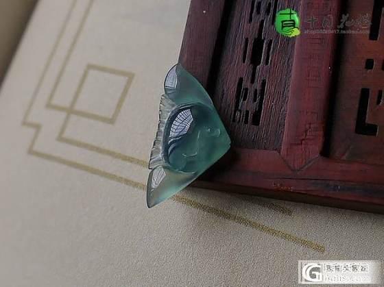 【十月】1.14-蓝水 小鱼,已上架~_十月花嫁翡翠