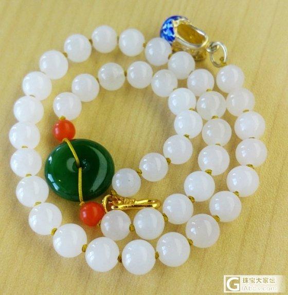 再来一条圆珠子手串_珠串和田玉