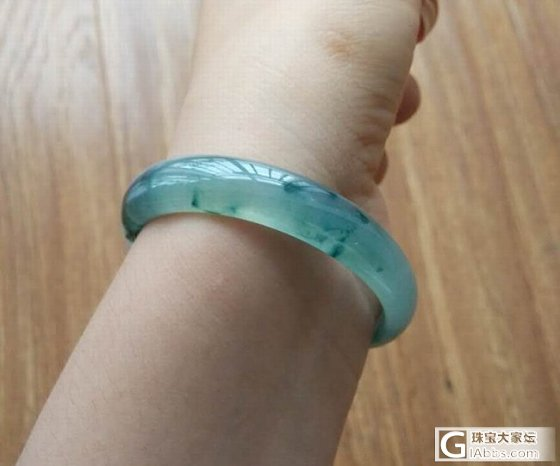 53mm的贵妃耶~我容易吗!_手镯翡翠双儿翡翠